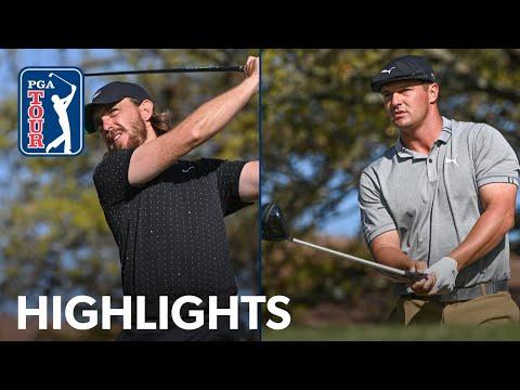 Highlights | Tommy Fleetwood vs. Bryson DeChambeau | WGC-Dell Match Play | 2021