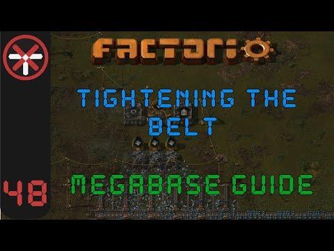 Factorio: Tightening The Belt: Megabase Guide EP48 - COAL