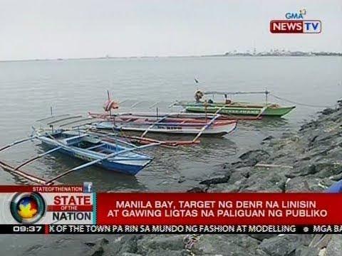 SONA: Manila Bay, target ng DENR na linisin at gawing ligtas na paliguan ng publiko