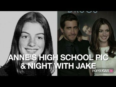 Anne Hathaway High School Photo & Love and Other Drugs Premiere