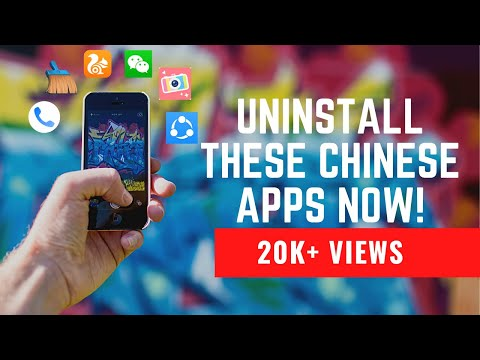 Banned apps in india!  Uninstall these Chinese apps immediately!