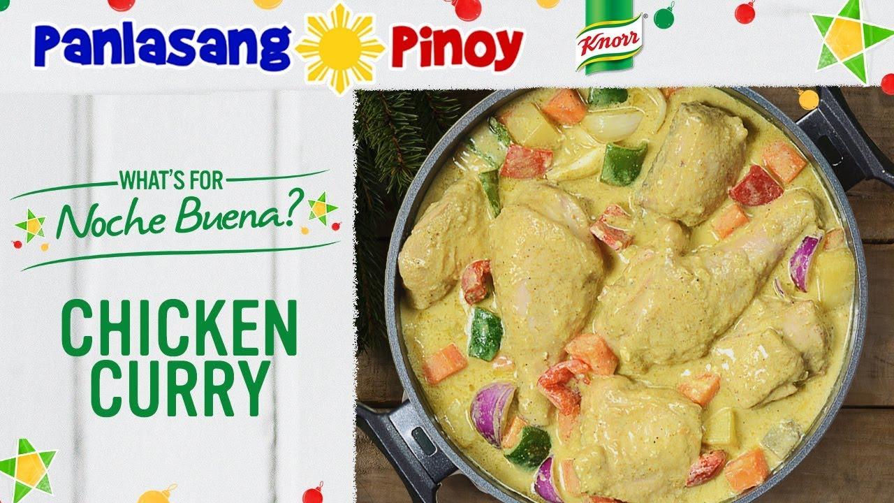 Chicken Curry Recipe Filipino Style Panlasang Pinoy Youtube