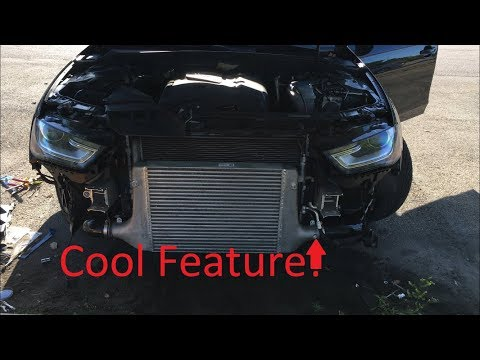 BEST Audi Water/Meth Injection Intercooler! Tutorial install For B8, B8.5, B9 A4, S4, A5, S5