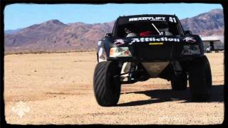 tom rides with affliction trophy truck driver dan fresh