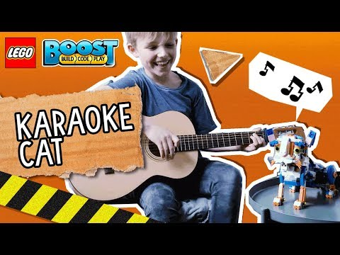 LEGO® BOOST: Frankie the cat sings!