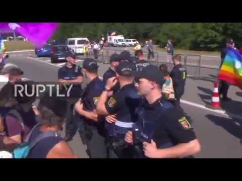 Germany: Protest demands closure of 'barbaric' Ramstein US airbase