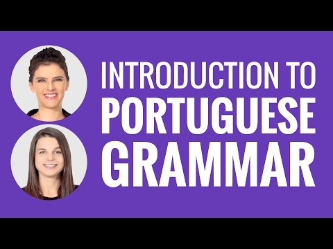 Introduction to Portuguese Grammar