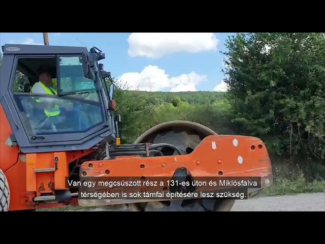 Hargita megyében kezdődik a legnagyobb útfelújítási beruházás!