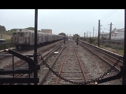 (2006) BRT Gate Car RFW Footage - Pitkin Yard-Rockaway Park