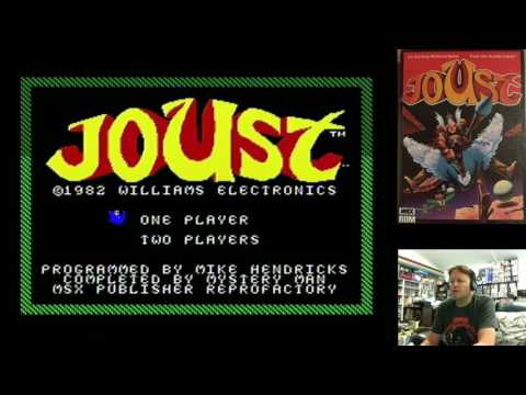 Retro Homebrew Computer Games (Joust, Codename Intruder MSX) 23rd April 2017