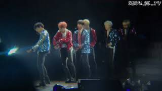 【Fancam】171104 BTS The Wings Tour in Macau - DNA