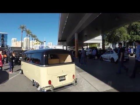 Stone Fab Slammed 1965 VW Type 2 Bus | Sema 2015