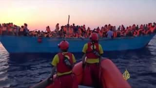 إيطاليا تنقذ 6500 لاجئ قبالة سواحل ليبيا