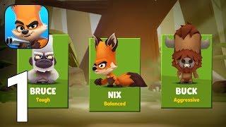 Zooba: Zoo Battle Royale Games Gameplay Walkthrough Part 1 - Tutorial [iOS/Android Games] screenshot 3