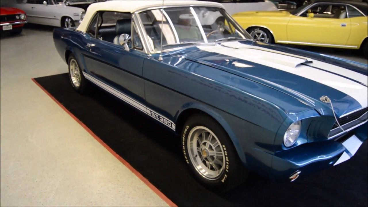 1966 Mustang Shelby Gt350 Convertible Tribute