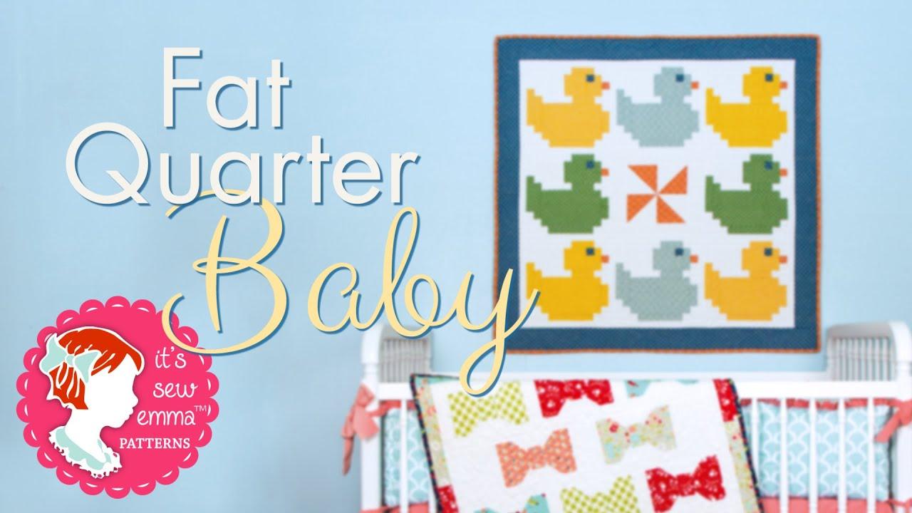 Quilting Book: Fat Quarter Baby Quilts Trailer - Fat Quarter Shop