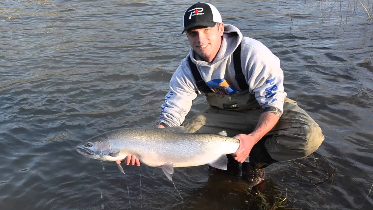 Winter steelhead 2013 southern oregon fishing youtube for Oregon steelhead fishing