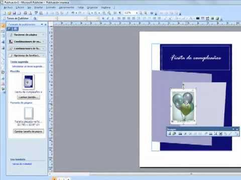 Como Hacer Una Invitacion En Microsoft Publisher