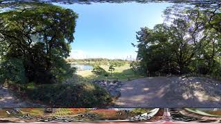【6K 360 VR】浜離宮恩賜庭園 富士見山からの眺め