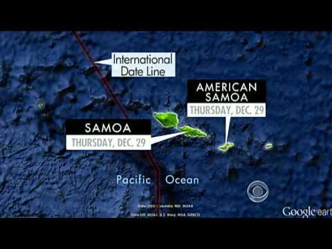 Samoa To Switch Time Zones, Skip Friday