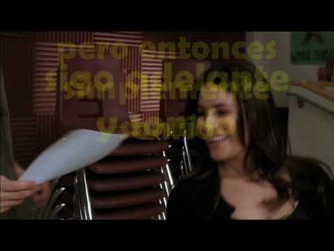 Smile (Lily Allen) - Glee cast (Traduccion en español)