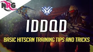 NRG IDDQD - Hitscan Training Tips and Tricks Basics McCree/Soldier76/Ana/Tracer