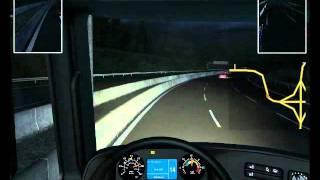 German Truck Simulator Wiedeń-Frankfurt nad Menem by Hitman |GamePlay
