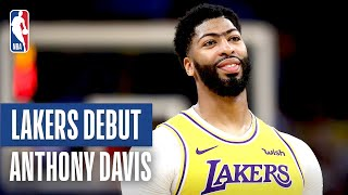 Anthony Davis Impresses In Lakers NBA Preseason Debut! | October 5, 2019