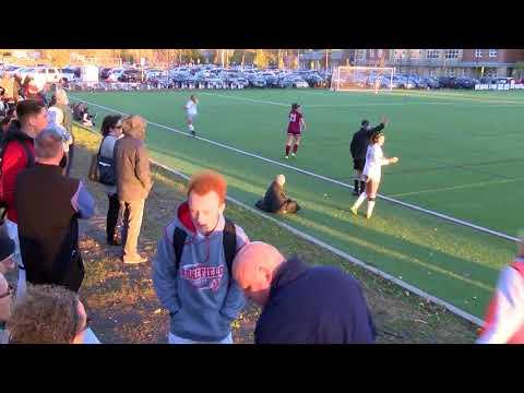 Arlington High School Girls Varsity Soccer vs Wakefield - October 30, 2017