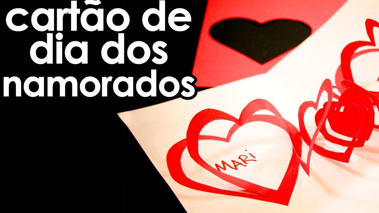 Dia Dos Namorados: Cartão Especial Para O Dia Dos Namorados (origami)