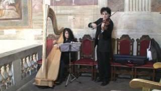 Cerimonia - Aria sulla 4a corda di Bach con Arpa e Violino - Oratorio Sant