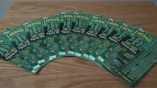 Emerald 10s Illinois Lottery & 100 SUBS! Thank You! :) #15