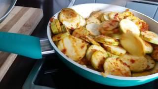 Anleitung und Rezept - Zucchini Eintopf kochen