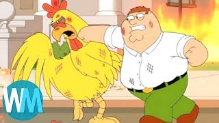 Top 10 Hilarious Peter Griffin Moments