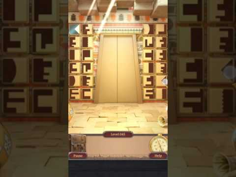 100 Doors Challenge 2 Level 45 Walkthrough