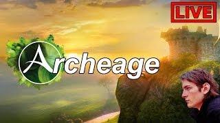 Archeage — [live] AA stream #2 — начинаем играть! / start playing!