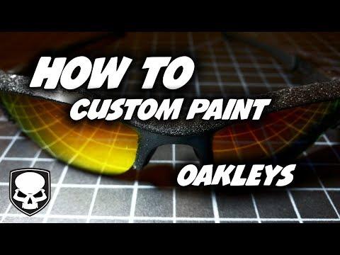 How To Paint Oakleys - Custom Flak Jackets