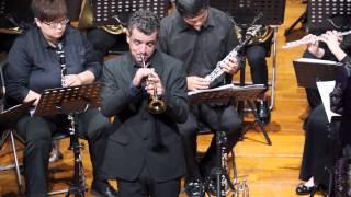 《TCUB》Vivaldi-Bach Concerto in D major - I.Allegro, Piccolo Trumpet solo : Joe Burgestaller