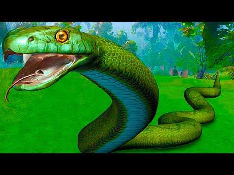 Jeux Serpent Geant Venimeux Youtube