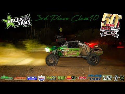 Green Army 3rd Place SCORE Baja 1000 '17