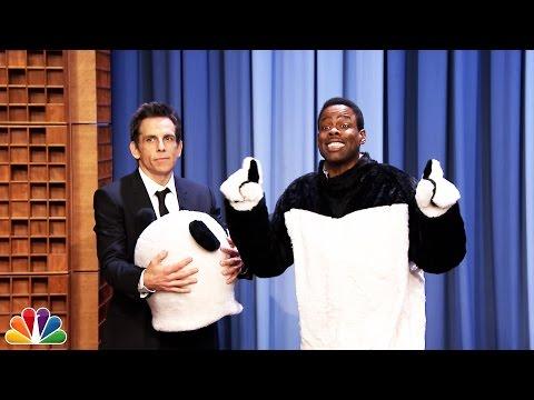 Ben Stiller Reveals Hashtag the Panda Is Chris Rock