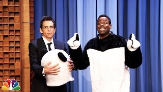 Ben Stiller Reveals Hashtag the Panda Is Chris Rock