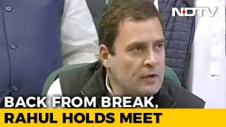 Rahul Gandhi Likely To Cancel China Visit After 11-Day Holiday Is Criticised