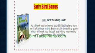 Bird Table Plans: How To Make A Bird Table