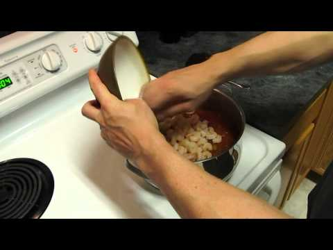 Dehydrated Backpacking  Food - Creole Shrimp