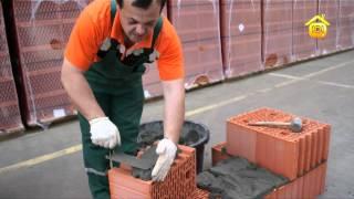 Укладка блоков из тёплой керамики // FORUMHOUSE(, 2012-06-01T05:50:26.000Z)