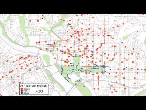 Capital Bikeshare GPS Study