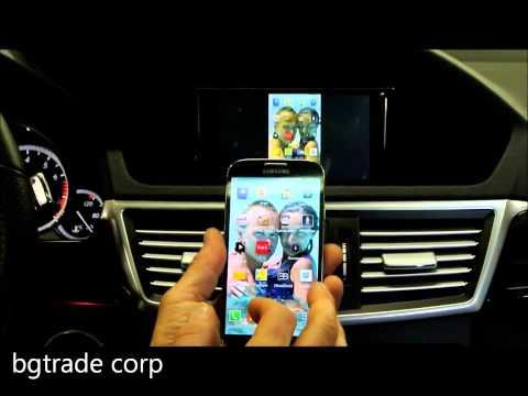 Mercedes Audio 20: Смартфон на Android OS на штатный монитор