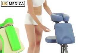 Массажные стулья US MEDICA Rondo и Boston