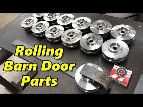 Machining Rolling Barn Door Hardware